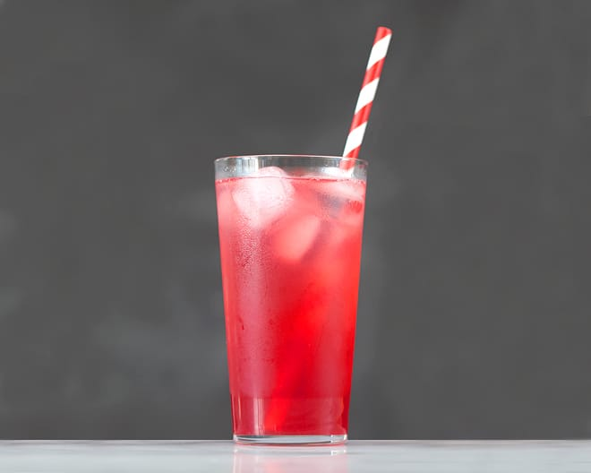 Sour Cherry Soda