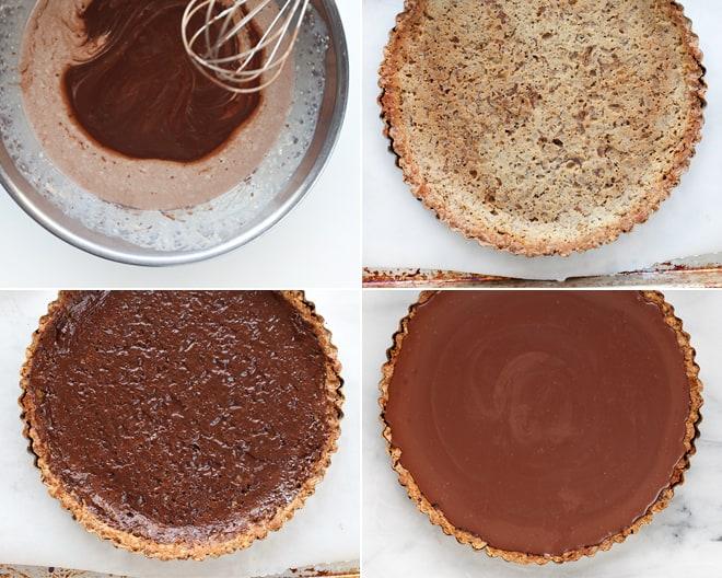 Milk Chocolate Pretzel Tart