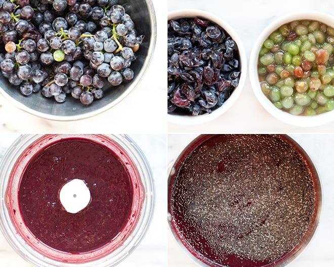 Concord Grape Chia Jam
