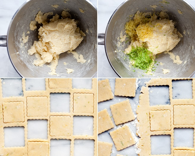 Lemon Lime Shortbread
