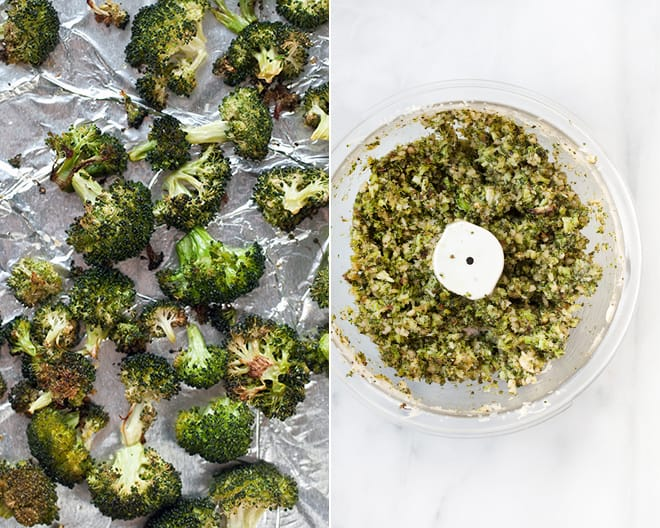 Roasted Broccoli Pesto