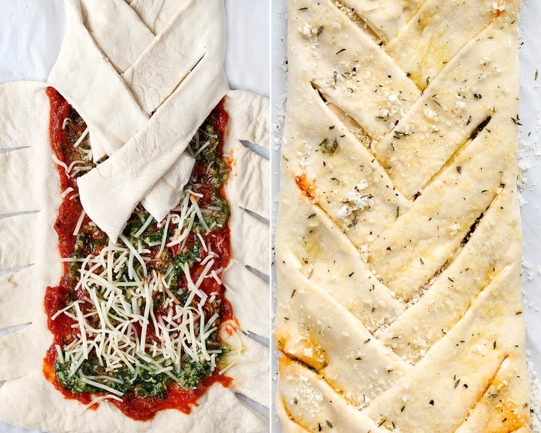 Braided Pizza Bread